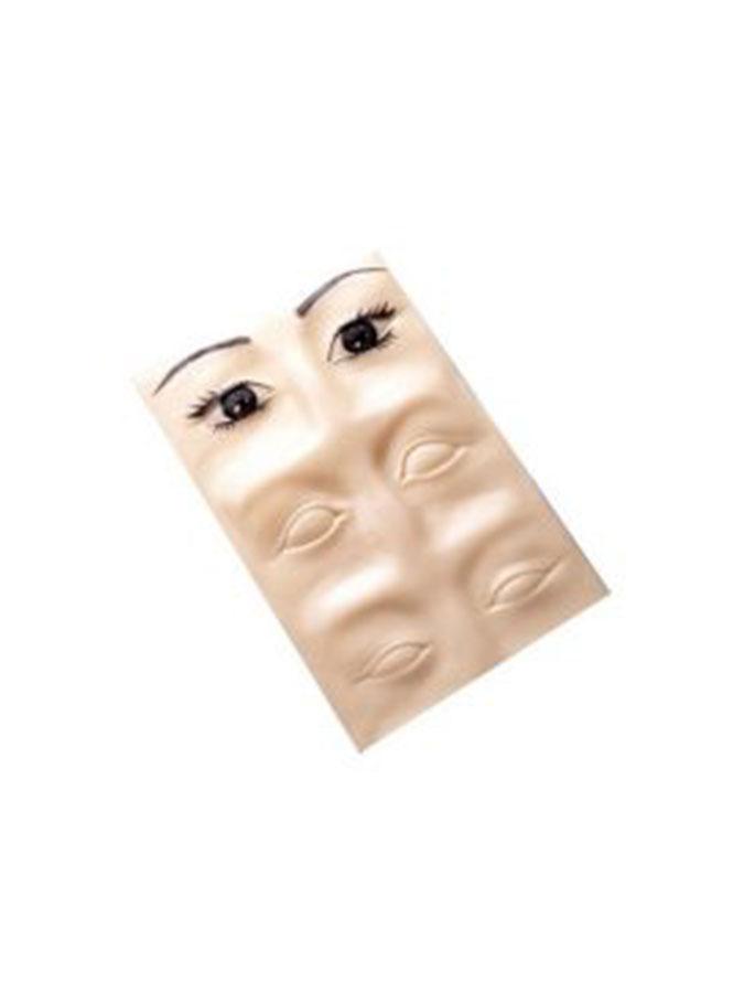 Szablon do ćwiczeń makijażu permanentnego 3D brwi i kreski
