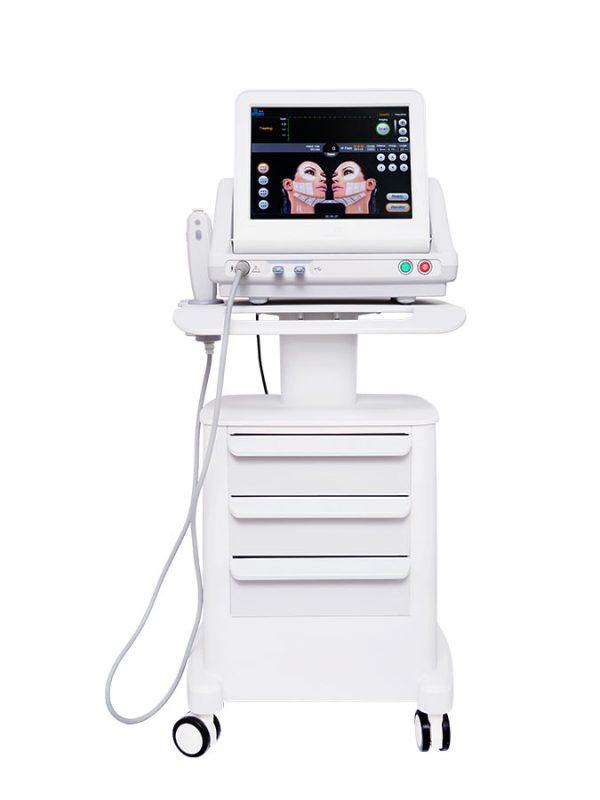 Niechirurgiczny lifting z wykorzystaniem skoncentrowanych ultradźwięków.