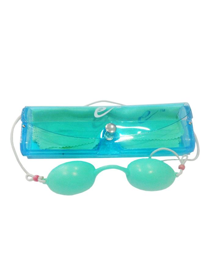 Okulary do depilacji laserowej dla pacjenta