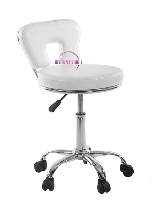 Krzesło kosmetyczne na kółkach BP-TK11