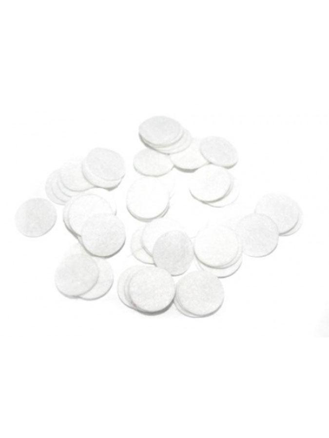 Filtry bawełniane małe 100 sztuk do urządzeń od mikrodermabrazji