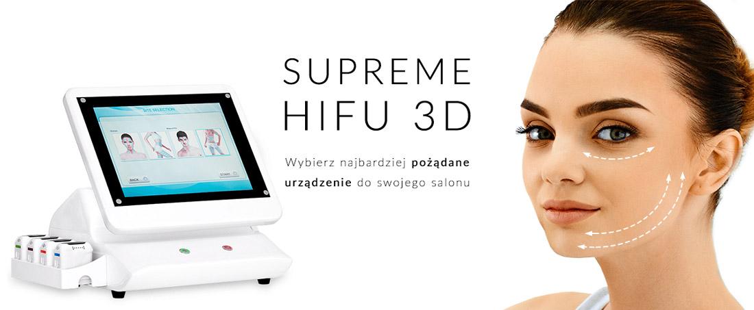 HIFU wieloliniowe lifting twarzy i ciała urządzenie