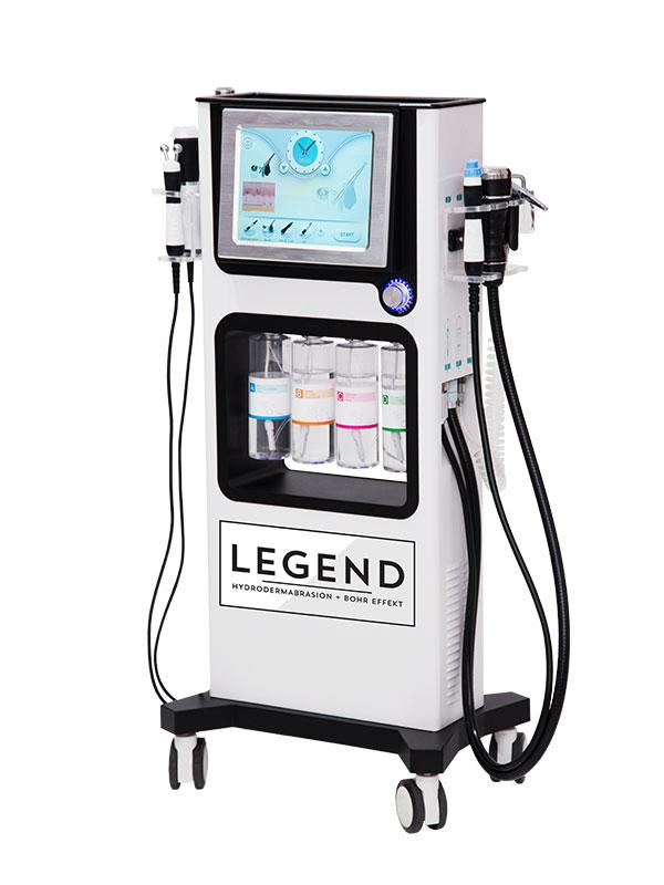hydradermabrazja urządzenie kosmetyczne z efektem bohra