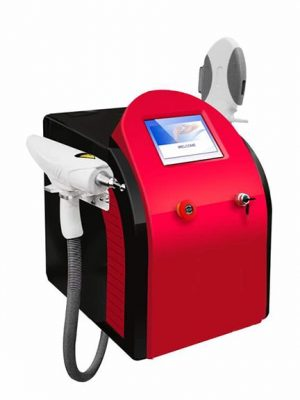 Laser OPT FLASH Połączenie E-light + SHR + IPL + ND-YAG
