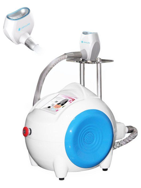 urządzenie do kriolipolizy do przeprowadzania zabiegów z użyciem zimna