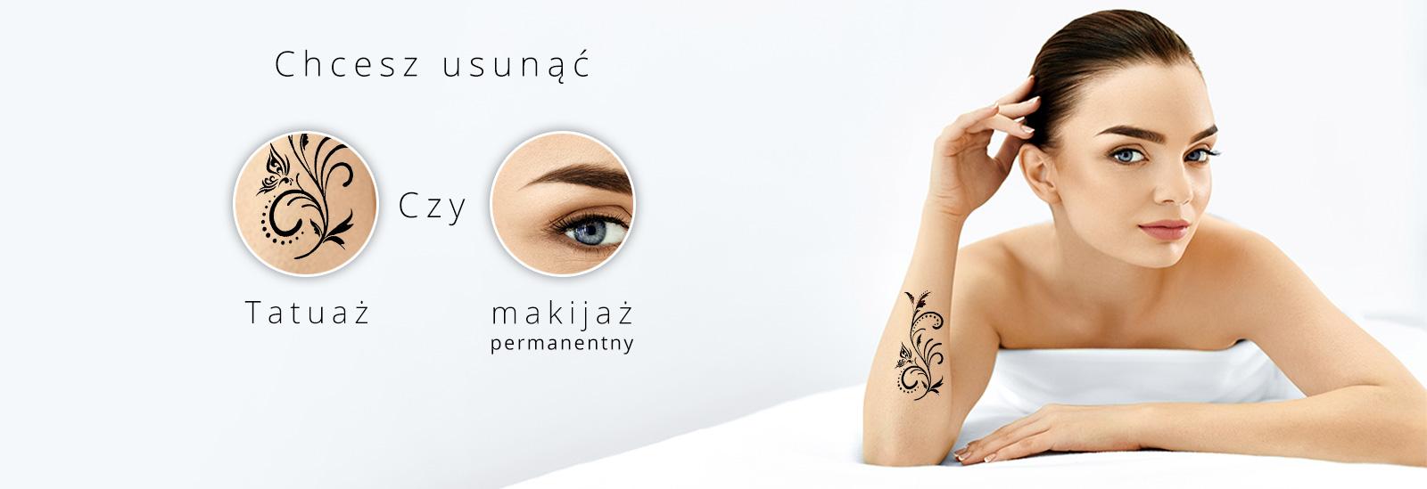 jak usunąć tatuaż i makijaż permanentny