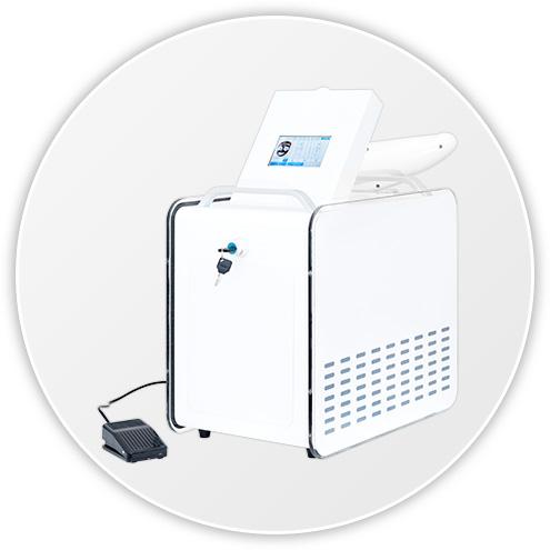 Laser Q Switch ND Yag urządzenie kosmetyczne efekty zabiegu