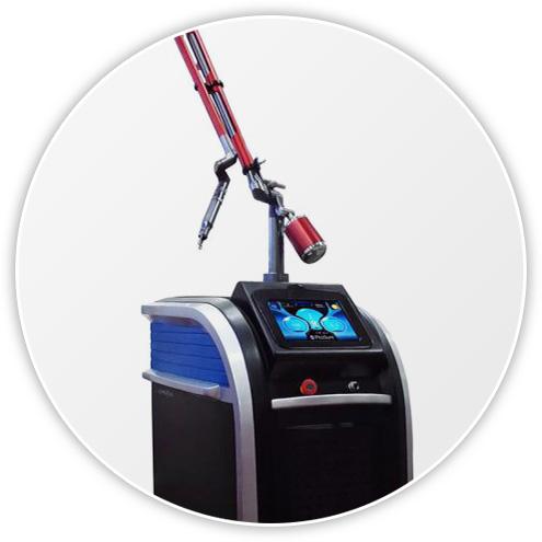 profesjonalny laser do usuwania tatuażu i makijażu permanentnego