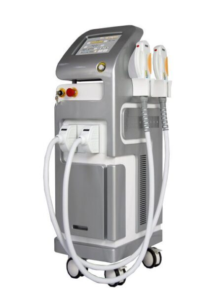 Medyczny laser IPL E-Light SHR dwugłowicowy